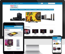 responsive ecommerce website design - Digital Era